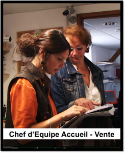 Image Chef d'équipe Accueil-Vente