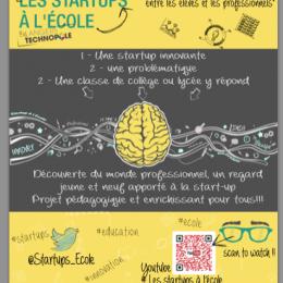 Les Startups à l'école : une nouvelle expérience collaborative !