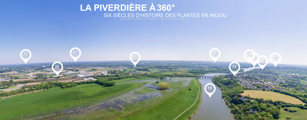 Visite virtuelle la Piverdière à 360 degrés